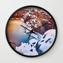 Great Fantasy Falls Wall Clock