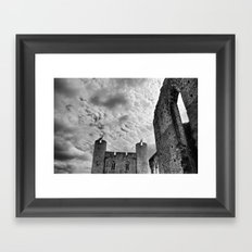 Caerphilly Castle Wales 4 Framed Art Print