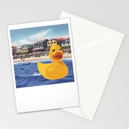 HOMEMADE RUBBER DUCK PATTERN Stationery Cards