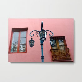 Buenos Aires Window Metal Print