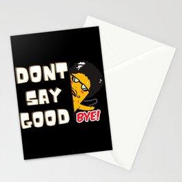 Verabschiedungen sind schwer Goodbye Stationery Cards