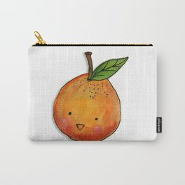Cutie Orange Head Carry-All Pouch