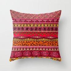 Yzor pattern 013 Summer Sunset Throw Pillow