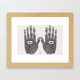 Hand Eye Coordination Framed Art Print