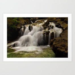 Lower Deception Falls Art Print