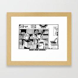 """Low End Of The Fandom Spectrum"" Framed Art Print"