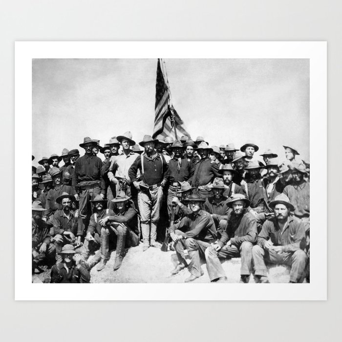 Teddy Roosevelt And The Rough Riders Kunstdrucke