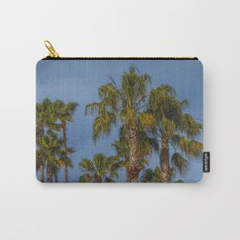 Palm Trees on Laguna Beach in California Carry-All Pouch