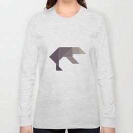 Tangram / Bear Long Sleeve T-shirt