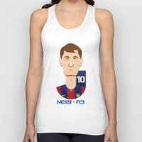 messi Tank Tops featuring Messi Barcelona by Sport_Designs