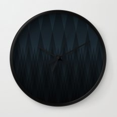 Mntns Wall Clock