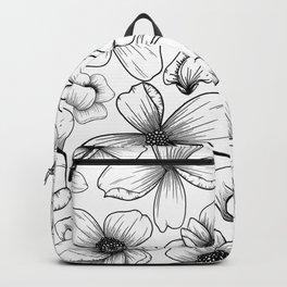 Floral Wallpaper: 1 Backpack