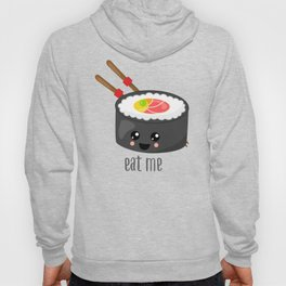 Eat Me in black Hoody
