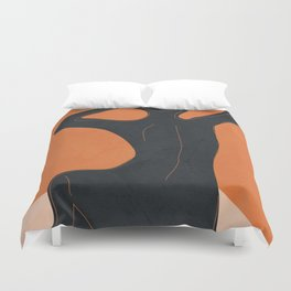 Abstract Nude I Duvet Cover