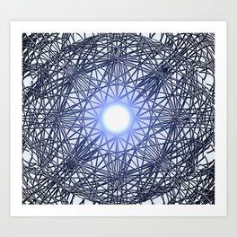 Search Light Art Print