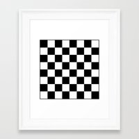 chess Framed Art Prints featuring Chess by ArtSchool