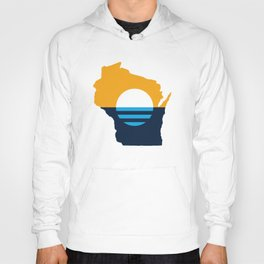 Wisconsin - People's Flag of Milwaukee Hoody