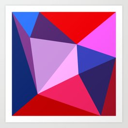 abstract geometric design for your creativity    Art Print