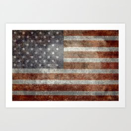 Old Glory, The Star Spangled Banner Art Print