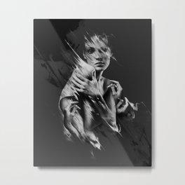 Food For Crime - Piece 1 Metal Print