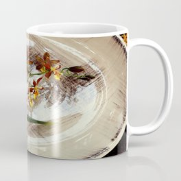 A Brushstroke Of Orchid Genus Coffee Mug
