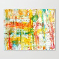 grid Canvas Prints featuring Grid by Keith Cameron