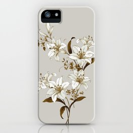 Flowers 9 iPhone Case