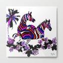 Zebra Rainbow #1 by saundramyles