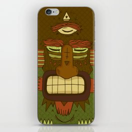 Cool Monster face iPhone Skin