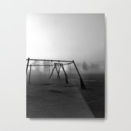 Let's play. Metal Print