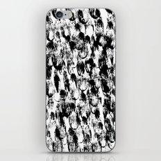Black Pattern#3 iPhone & iPod Skin