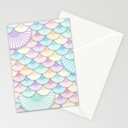 Pastel Wagon Wheels Stationery Cards