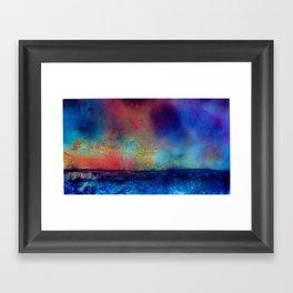 Rise, setting sun! Framed Art Print