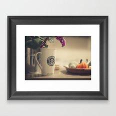 More coffee Framed Art Print
