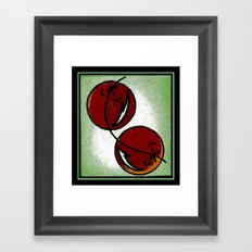 Cherry Chic Framed Art Print