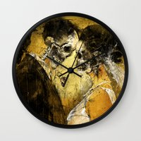 death Wall Clocks featuring 'Til Death do us part by Fresh Doodle - JP Valderrama
