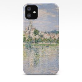 Vetheuil in Summer 1880 by Claude Monet iPhone Case
