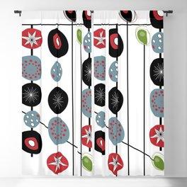 Mid-Century Modern Art Atomic Cocktail 2.0 Blackout Curtain