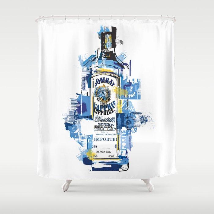 Bombay Shower Curtain By Theoldartstudio
