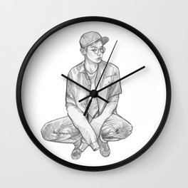 Chanyeol 27 Wall Clock