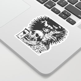 The Cycle Of Death Sticker