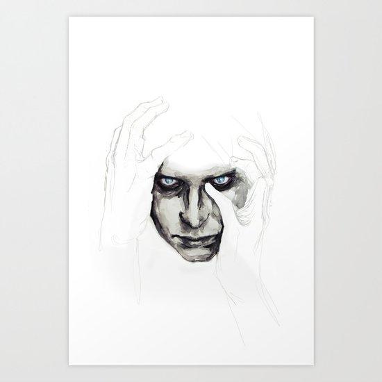 detail insomnia Art Print