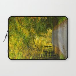 Tunnel of Trees Landscape Laptop Sleeve