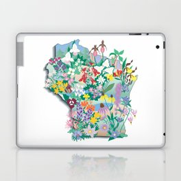 Wisconsin Wildflowers Laptop & iPad Skin