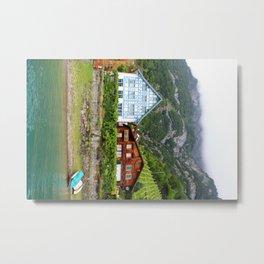 Lakeside Residence - Switzerland Metal Print