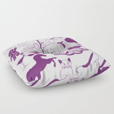 Sugar and spice and everything nice. Floor Pillow