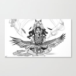 Hymn to Nature Canvas Print