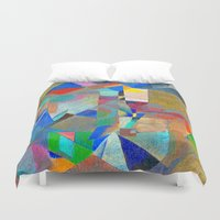 actor Duvet Covers featuring Harlequin by Fernando Vieira