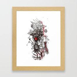 Porcupine Murder Framed Art Print