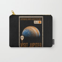 Visit Jupiter Carry-All Pouch
